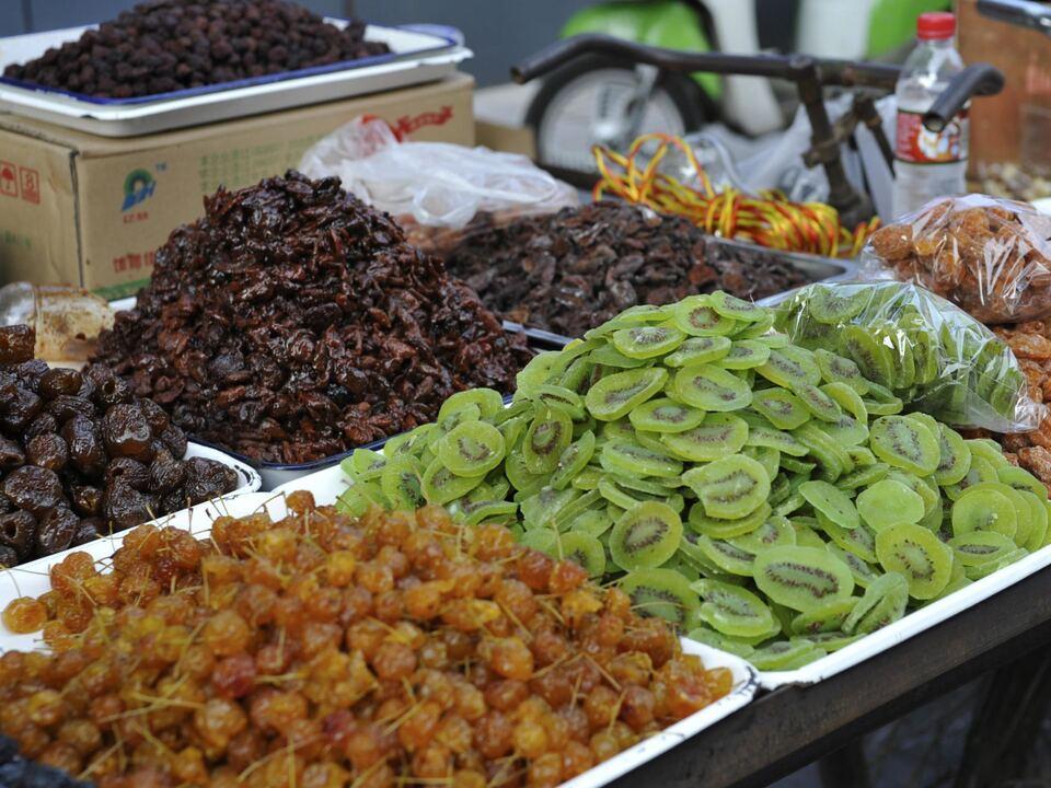 trockenfrüchte weihnachten frucht markt einkaufen