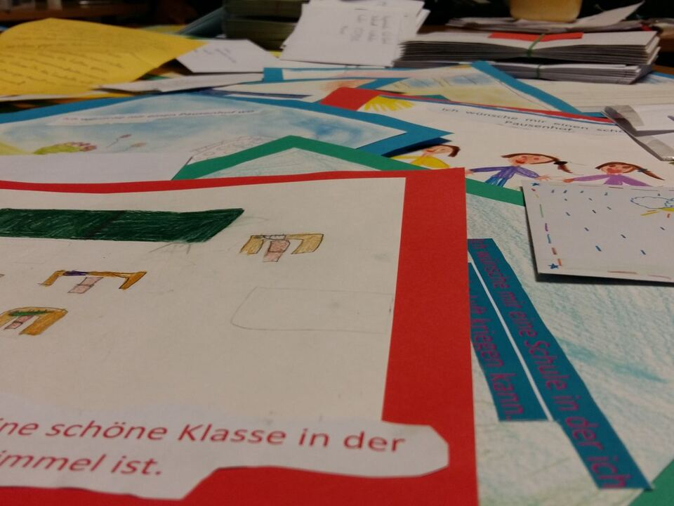 Briefe Bilder Schüler Obermais