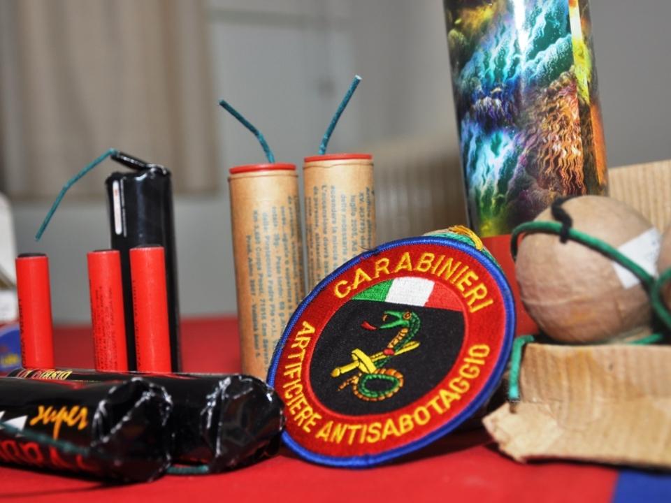 carabinieri silvester böller