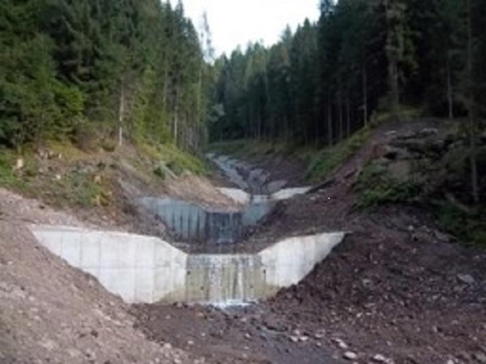 Stetterbach/Wildbachverbauung
