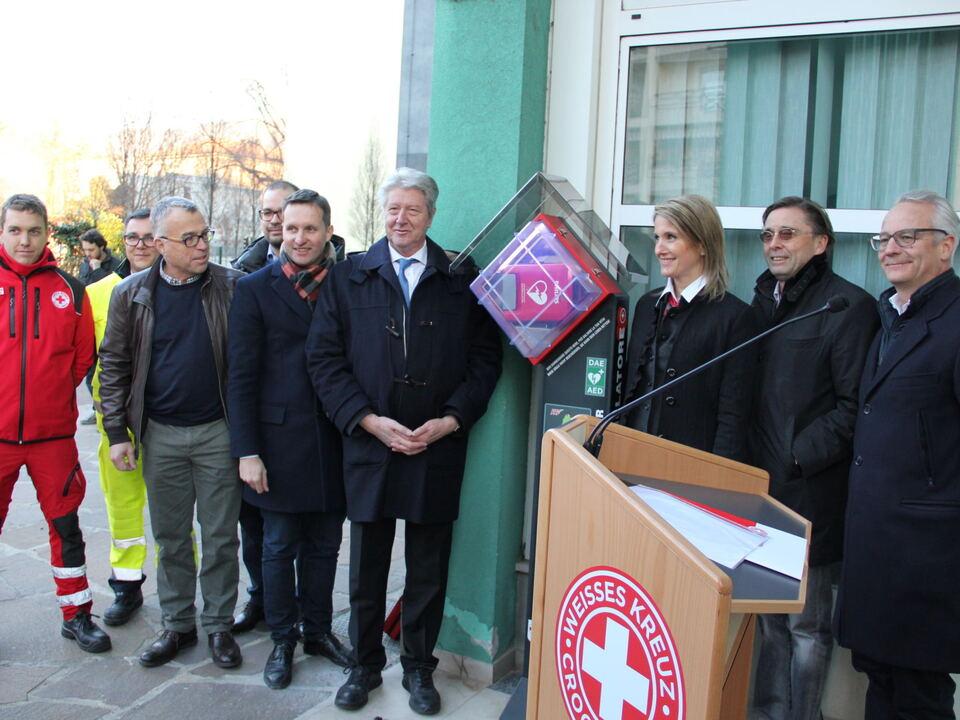 AED Enthüllung 2016 Bozen