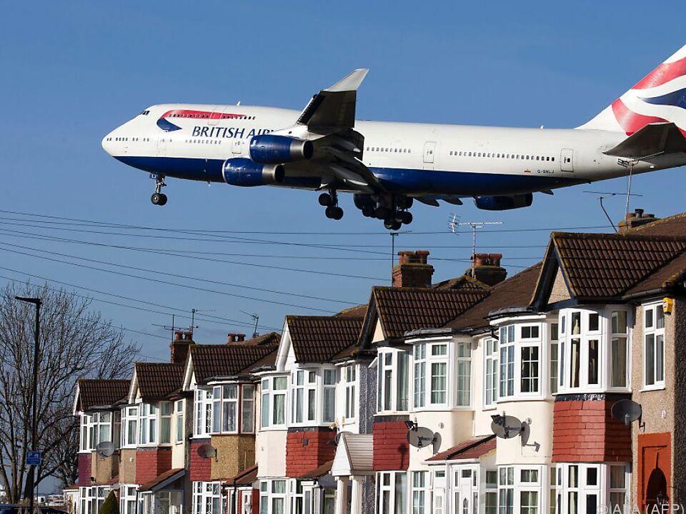 British Airways fliegt über die Feiertage doch flugzeug