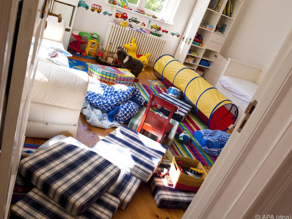 Das Kinderzimmer wird ausspioniert