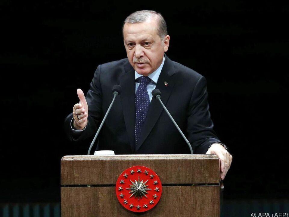 Erdogan will EU-Beitritt nicht um jeden Preis