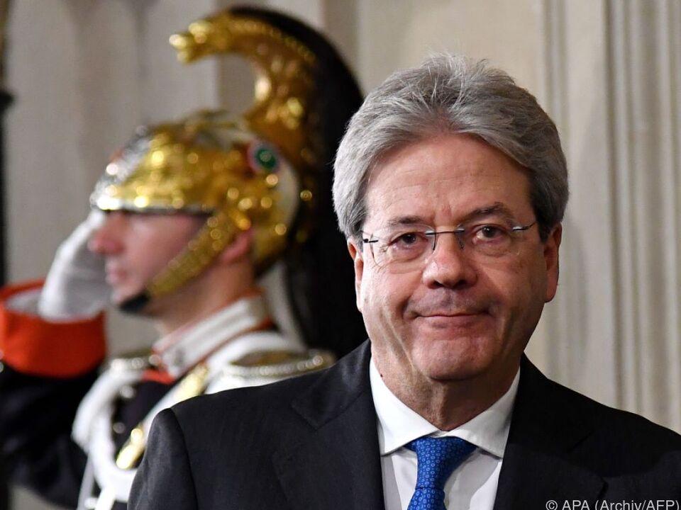 Gentiloni bildet 66. Kabinett seit 1946