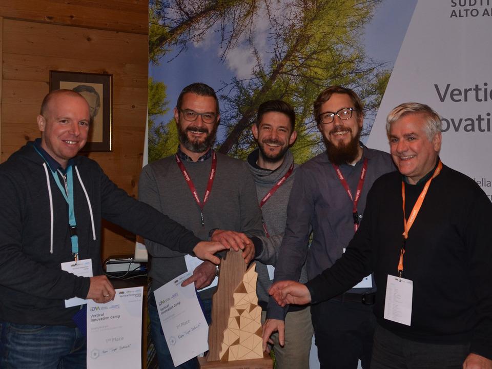 Gewinnerteam Vertical Innovation Camp 2016