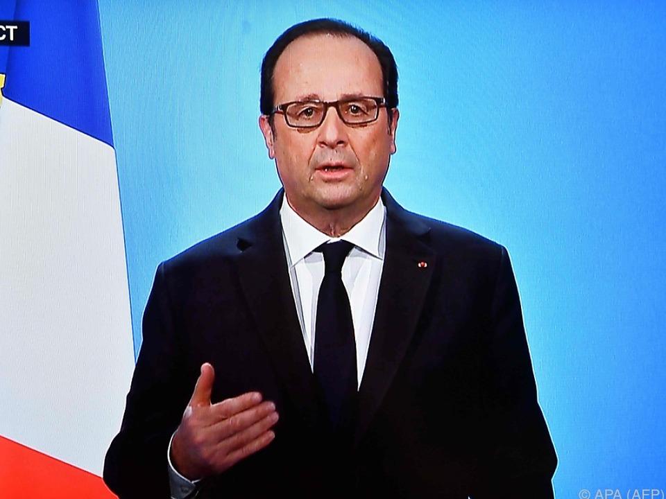 Hollande steht bei der Wahl 2017 nicht mehr zur Verfügung