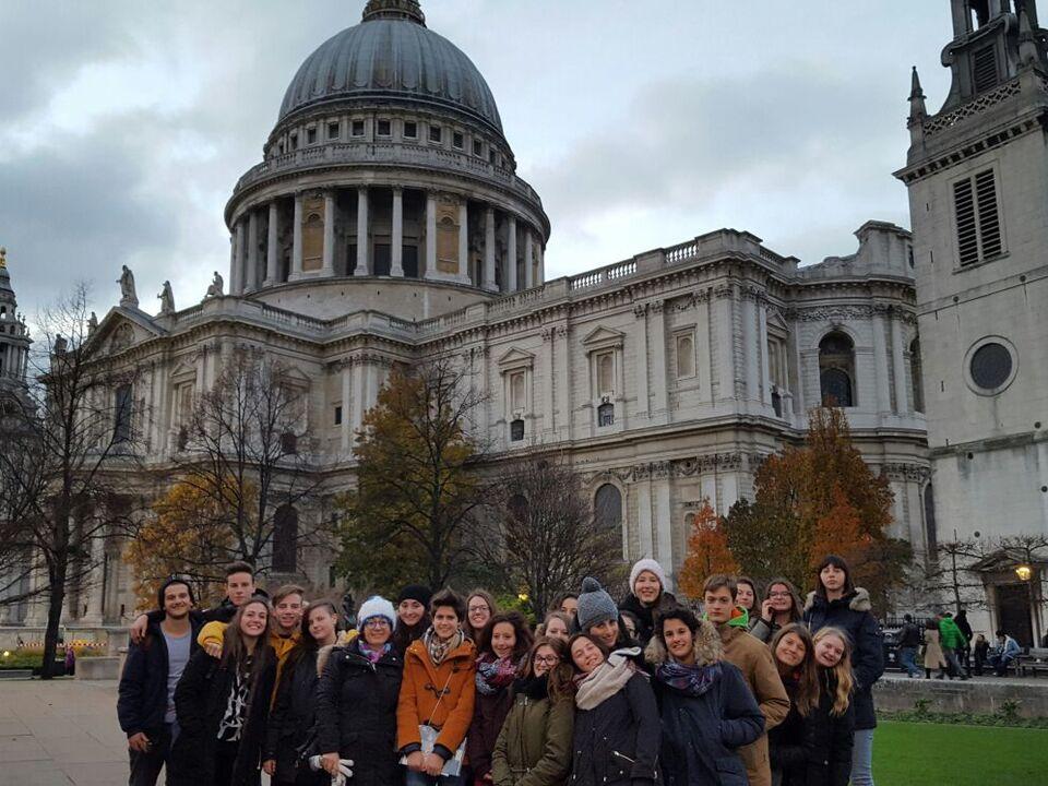 Marcellineschule  Schüler London