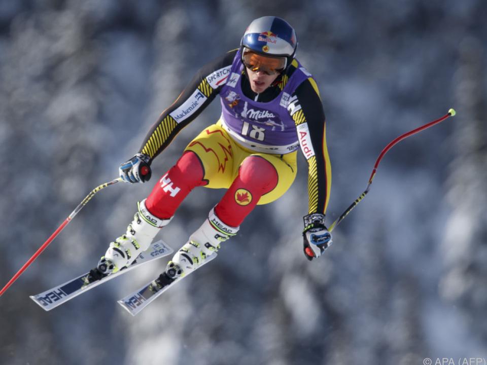 Kanadier Erik Guay Schnellster im Training