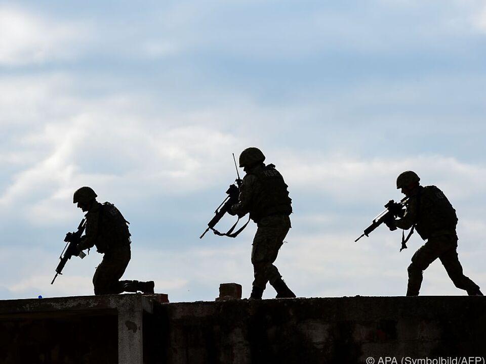 Krieg militär soldaten Heer Konkrete Ergebnisse werden nicht erwartet