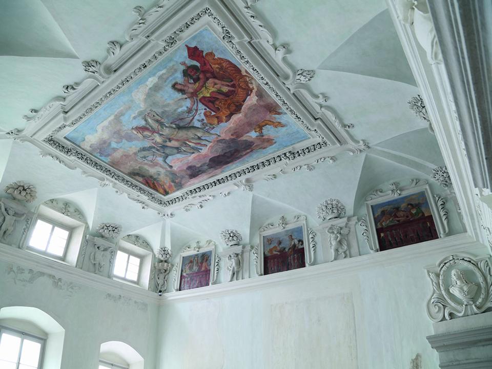 Palais Mamming Museum/Deckengemälde