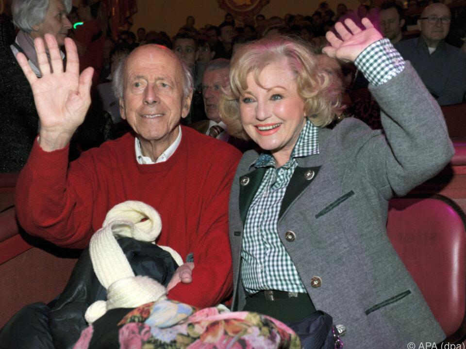 Margot Hellwig und Arthur Lindermayr
