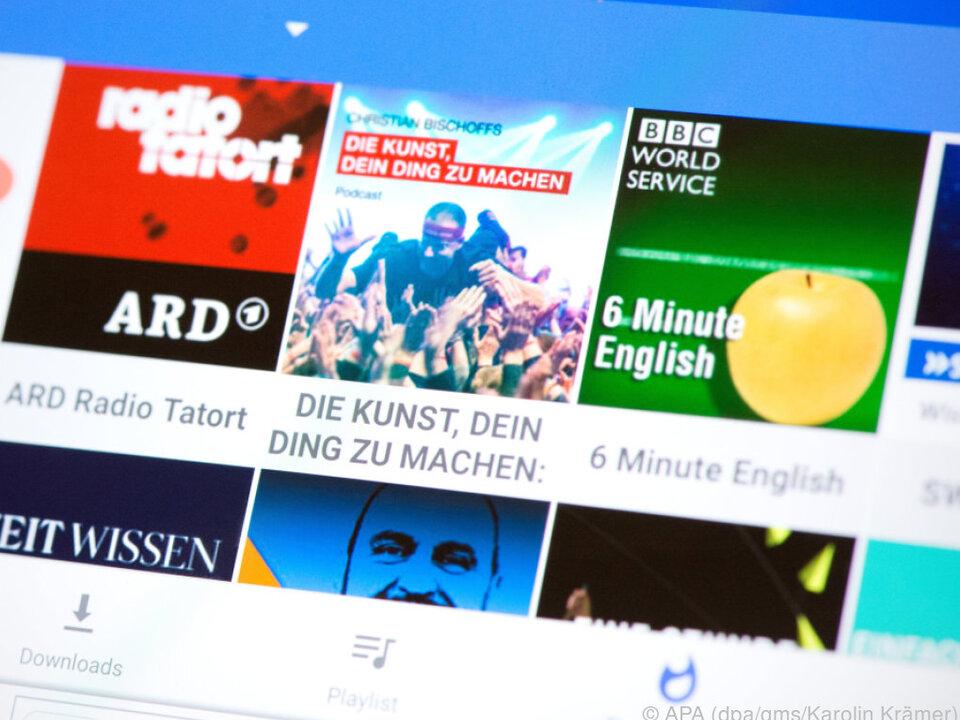 Podcast Republic ist eine werbefinanzierte Gratis-Anwendung für Android