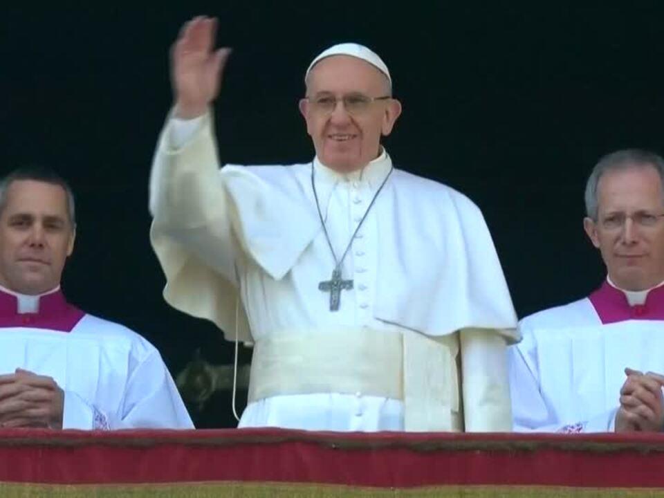 Papst Franziskus ruft zu Weihnachten zu Frieden und Mitgefühl auf