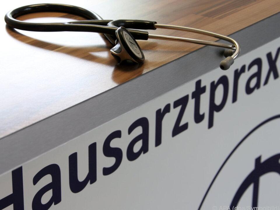 arzt hausarzt Protest gegen die Gesundheitsreform