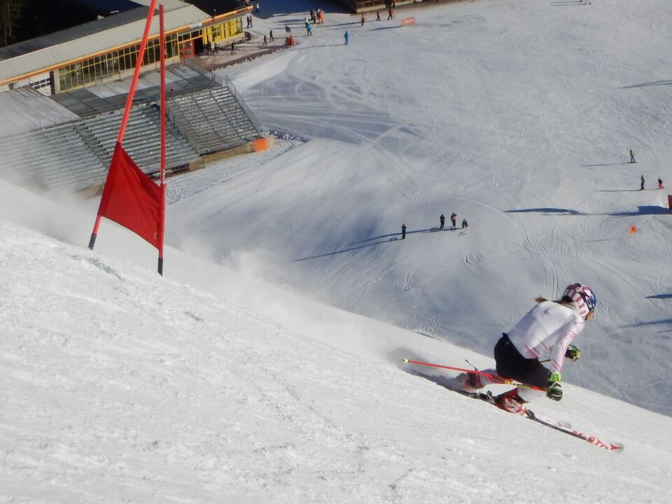Shiffrin Michaela in action on ERTA slope 2