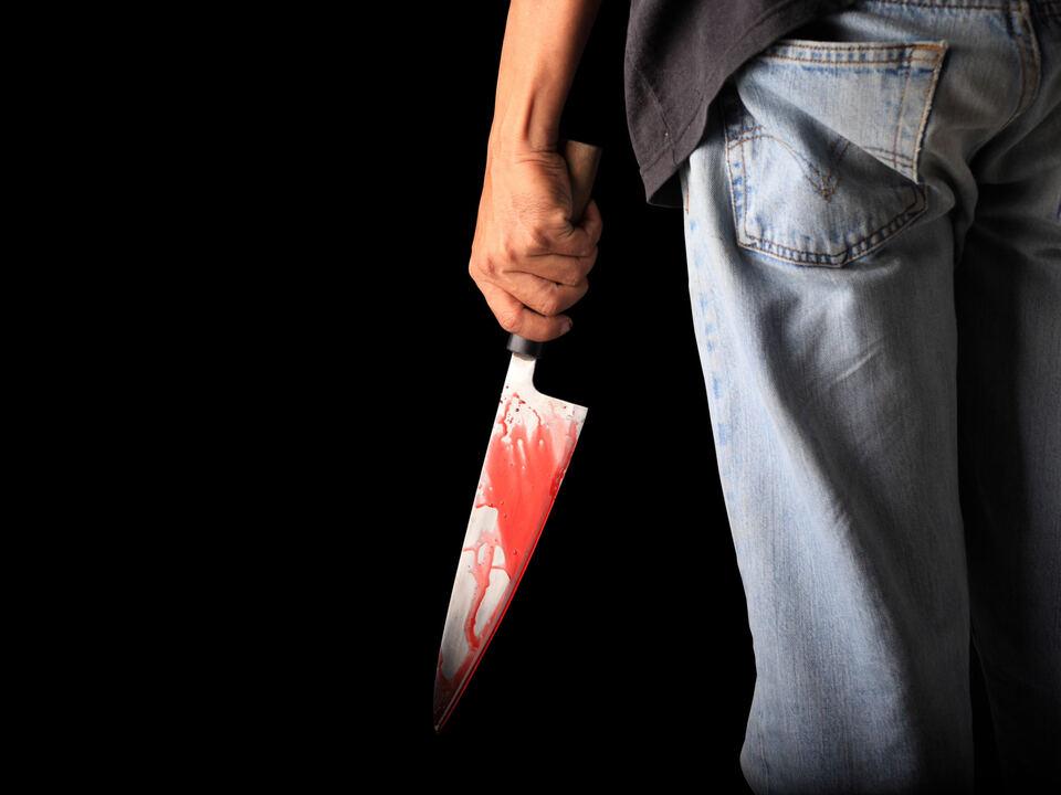 messer mord kriminell blut