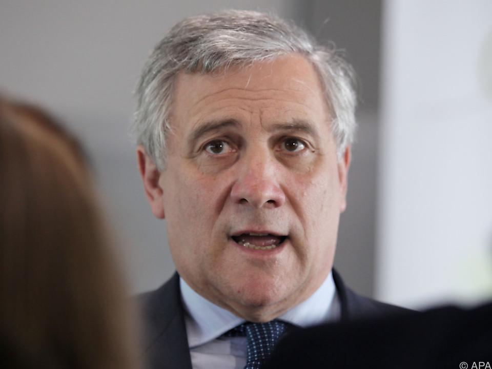 Tajani geht am 17. Jänner ins Rennen