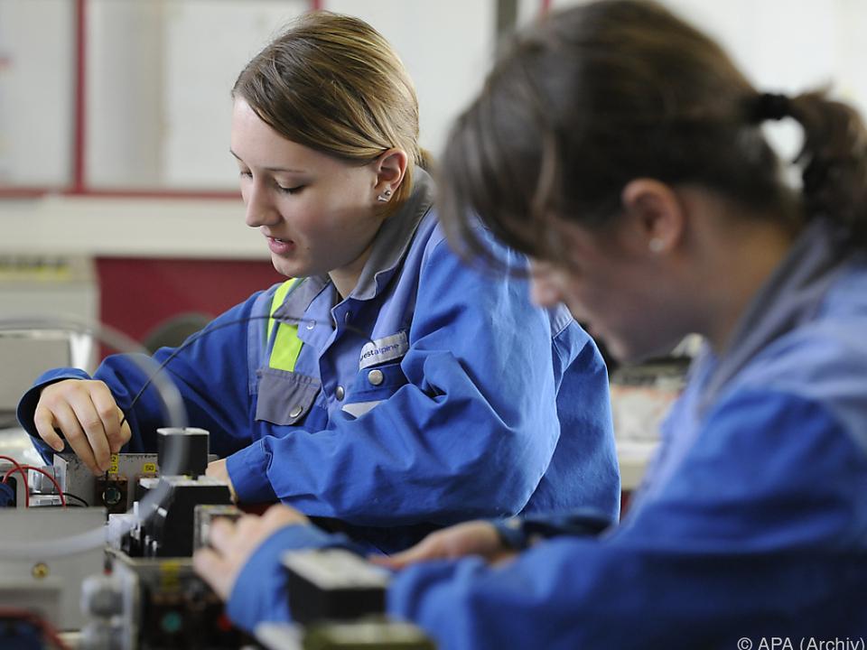 Unterstützung bei Ausbildung im handwerklich-technischen Beruf
