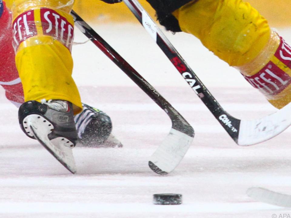 Vienna Capitals in der Eishockey-Liga schon acht Punkte voran