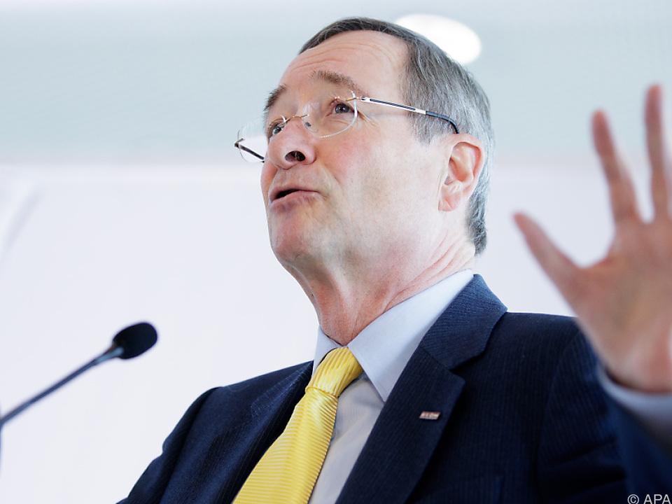 Wirtschaftskammer-Präsident Christoph Leitl warnt vor Protektionismus