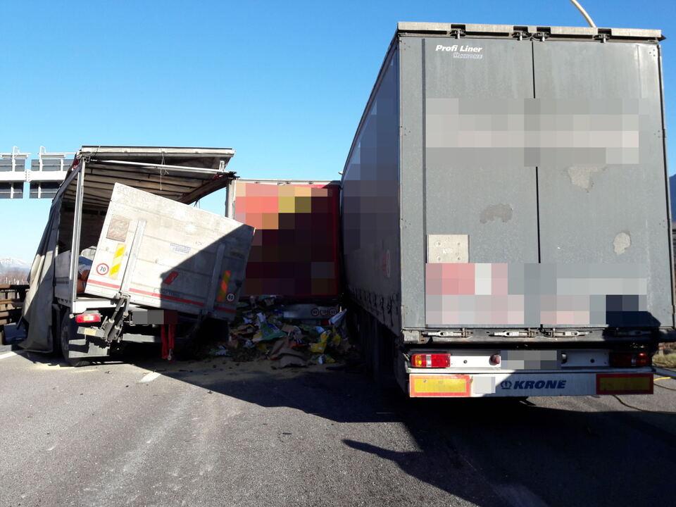 Unfall A22 Neumarkt