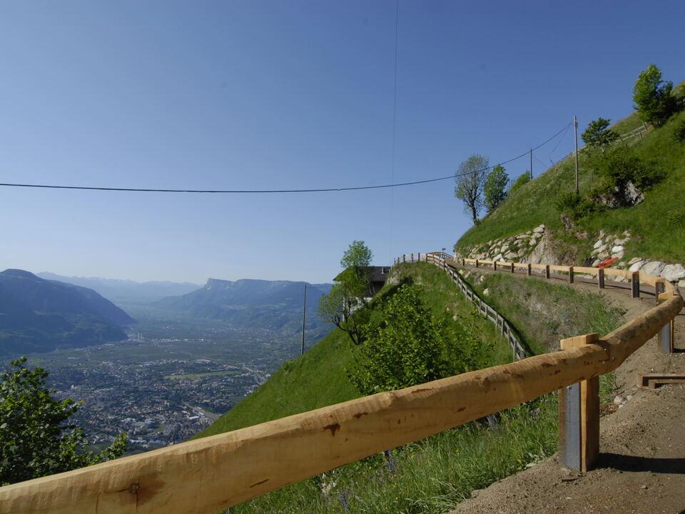 Wanderweg Weg Panorama Ausblick