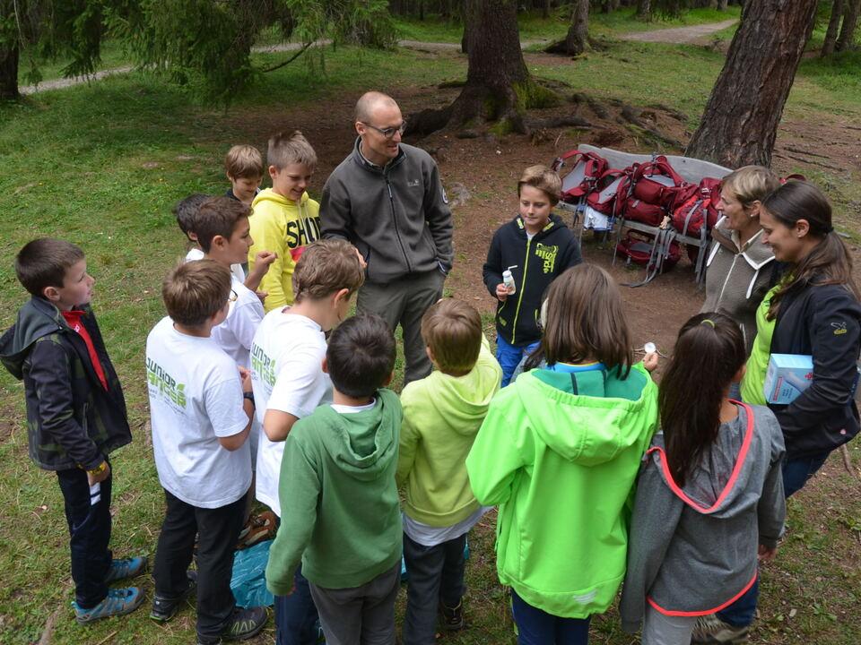 Naturparks: Betreuungen und Führungen im Sommer