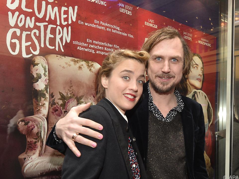 Adele Haenel und Filmpartner Lars Eidinger