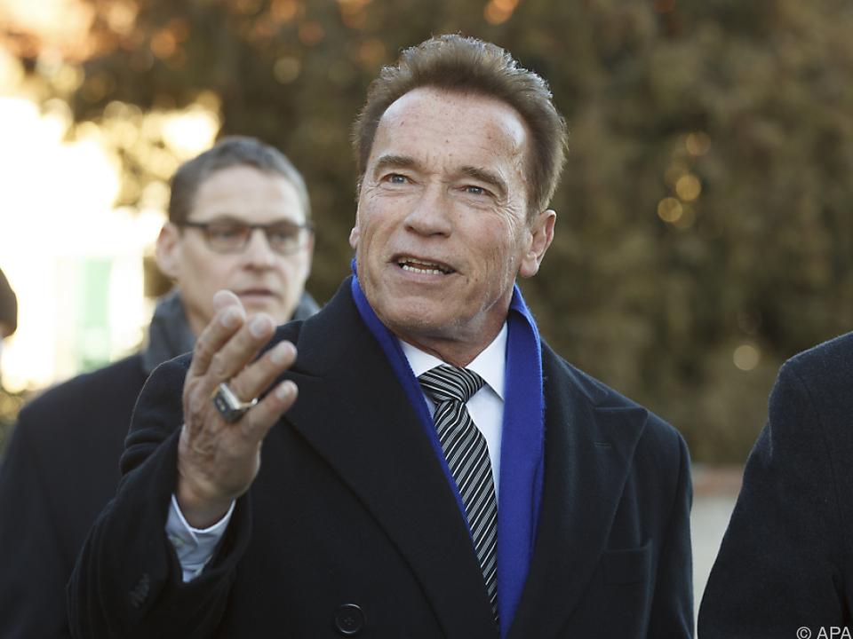 Arnie überraschte die Zisterziensermönche