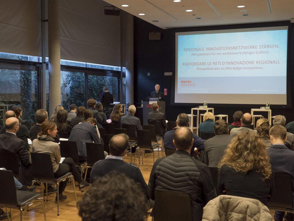 Tagung zu Innovation Eurac