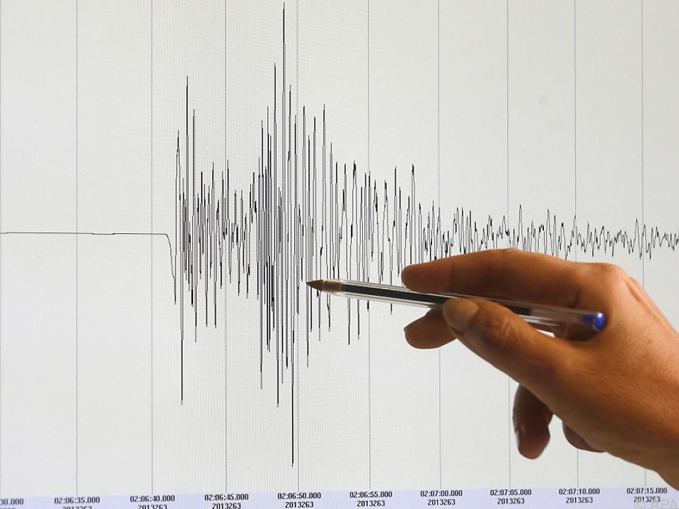 Das Erdbeben hatte eine Stärke von 7,9
