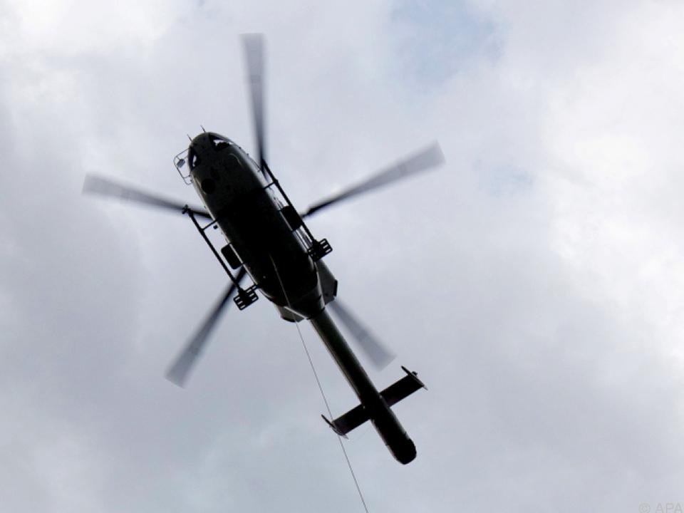 Die meisten Alpintoten gibt es in den Sommermonaten rettung pelikan hubschrauber helikopter