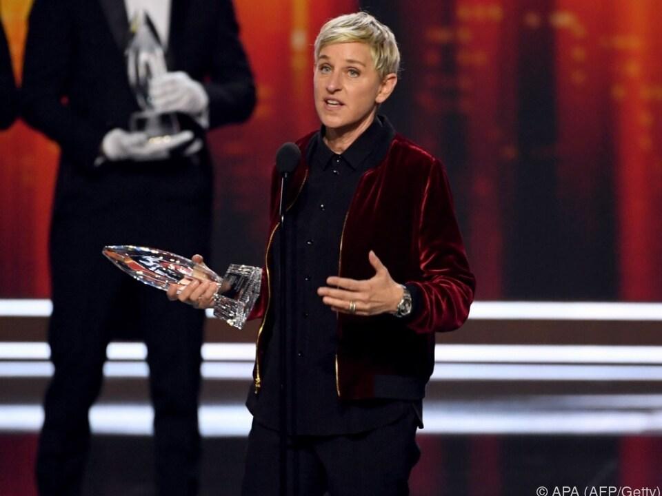 Ellen DeGeneres ist einer der beliebtesten US-TV-Menschen