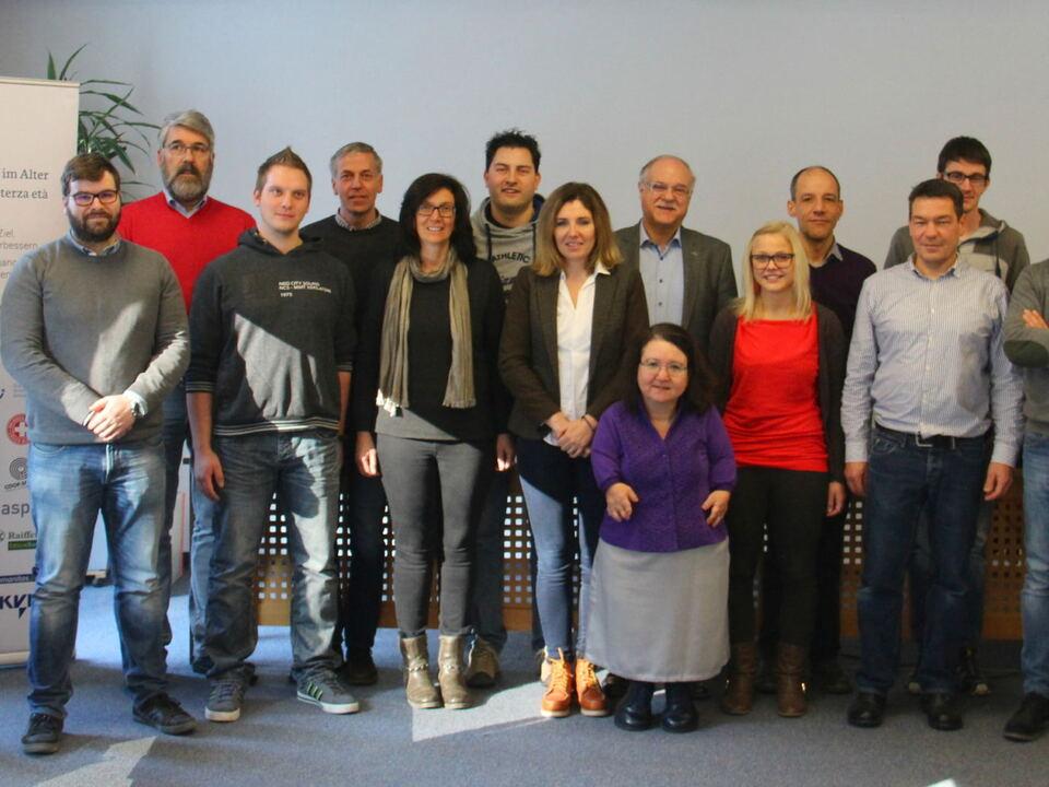 Teilnehmer Qualifizierungskurs für barrierefreies Wohnen