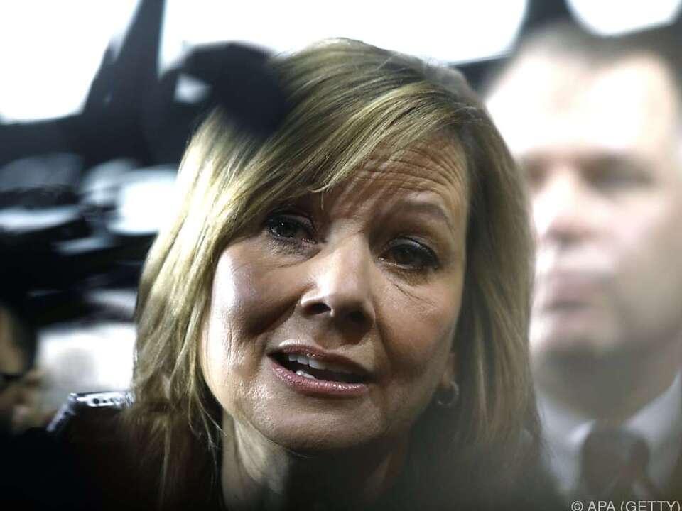 GM-CEO Mary Barra will dort produzieren, wo auch verkauft wird