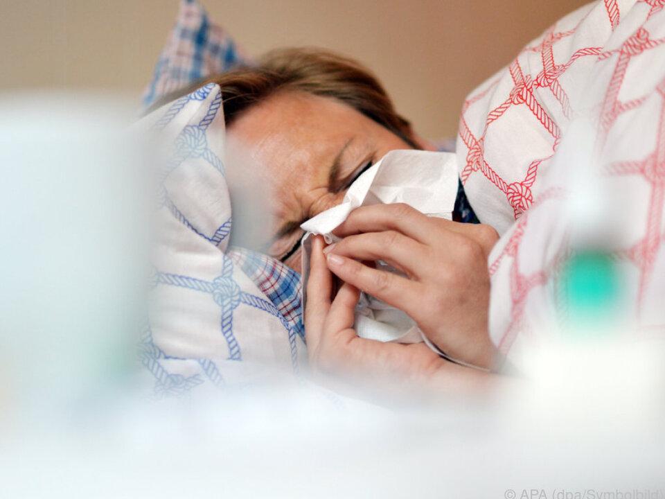 Grippewelle setzte früher als sonst ein