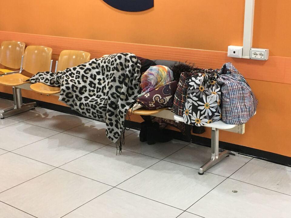 Obdachlos Krankenhaus Bozen