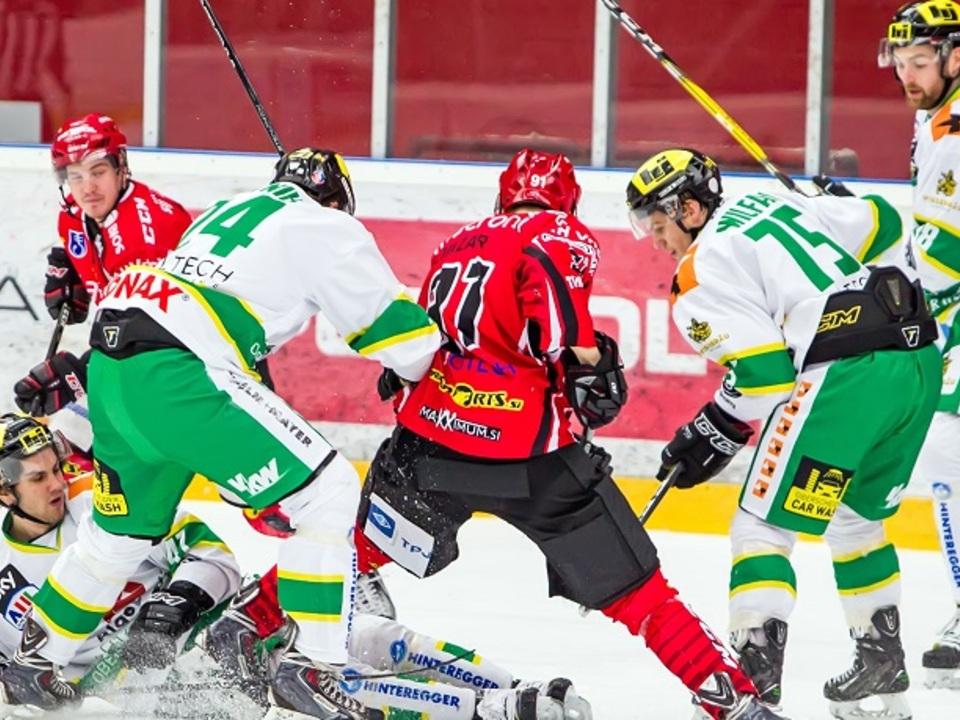 Jesenice vs. Lustenau Hockey