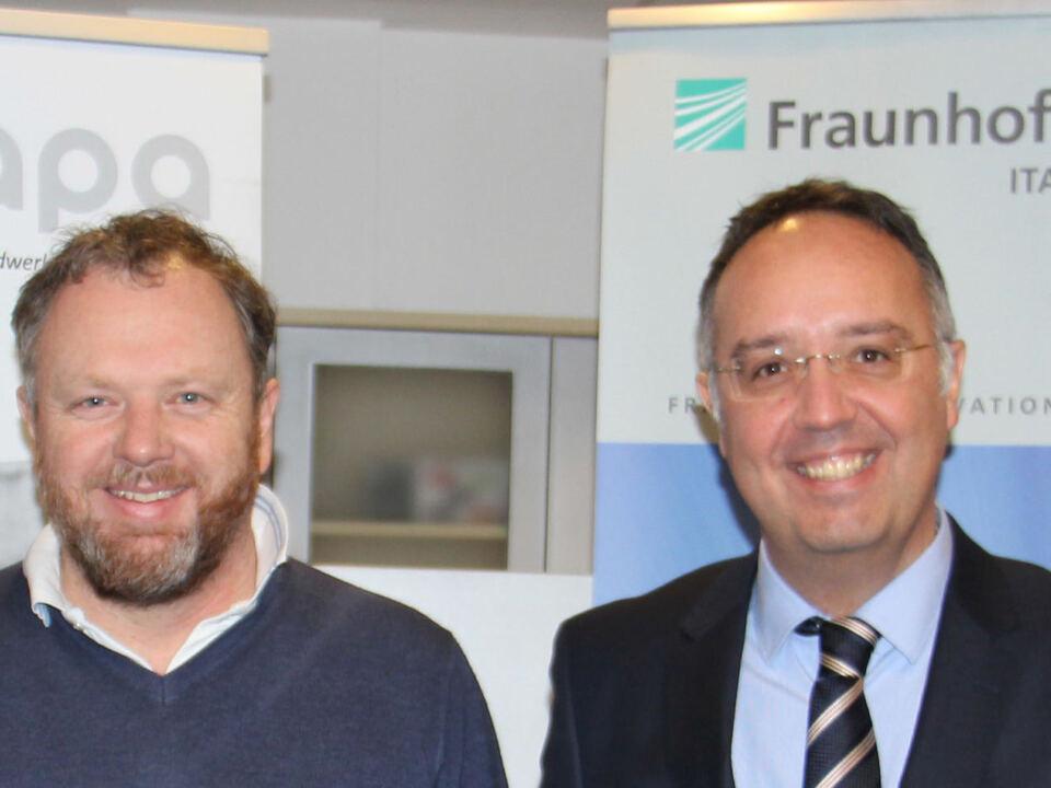 Kooperation Fraunhofer-lvh