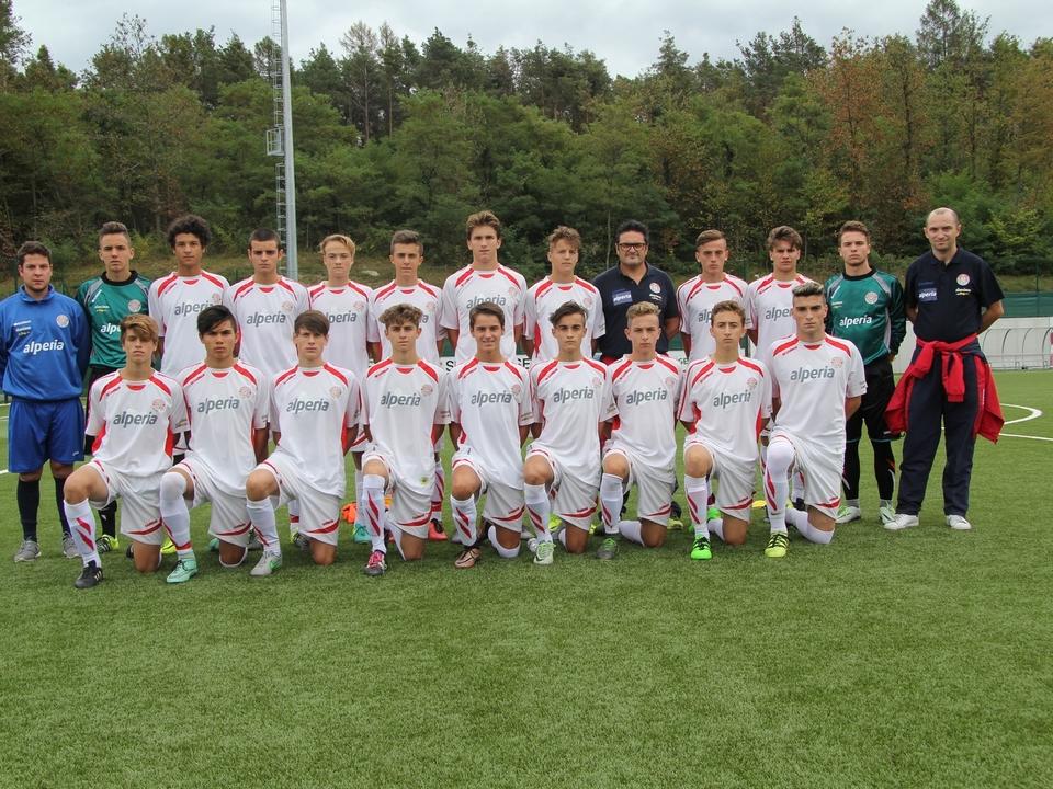 La squadra Allievi Nazionali