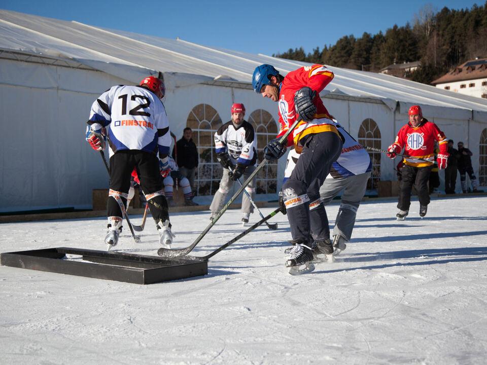 Thomas Profunser/1. European Pond Hockey Championship am Ritten