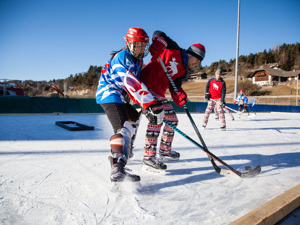 Thomas Profunser/1. European Pond Hockey Championship am Ritten