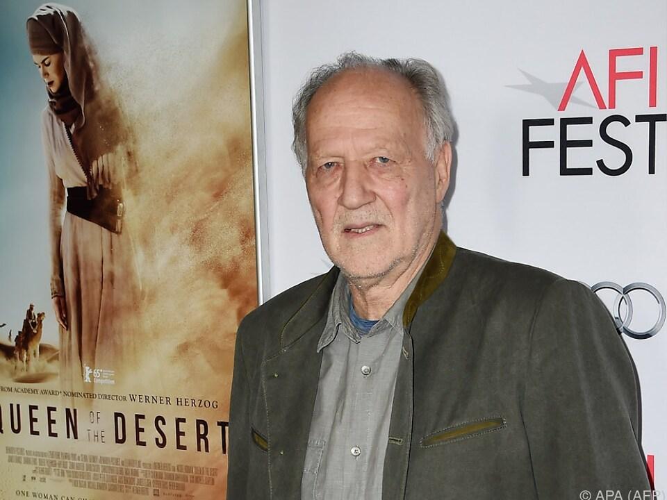 Regisseur Werner Herzog wird mit einer Film-Retrospektive geehrt