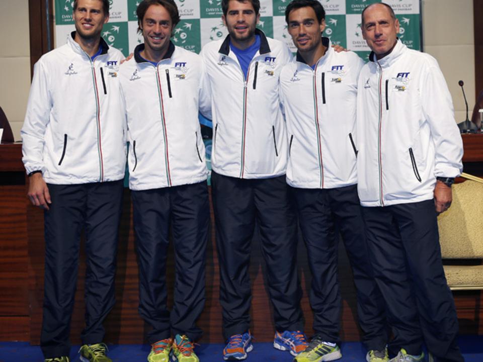 Seppi hat insgesamt 38 Davis-Cup-Partien für Italien absolviert