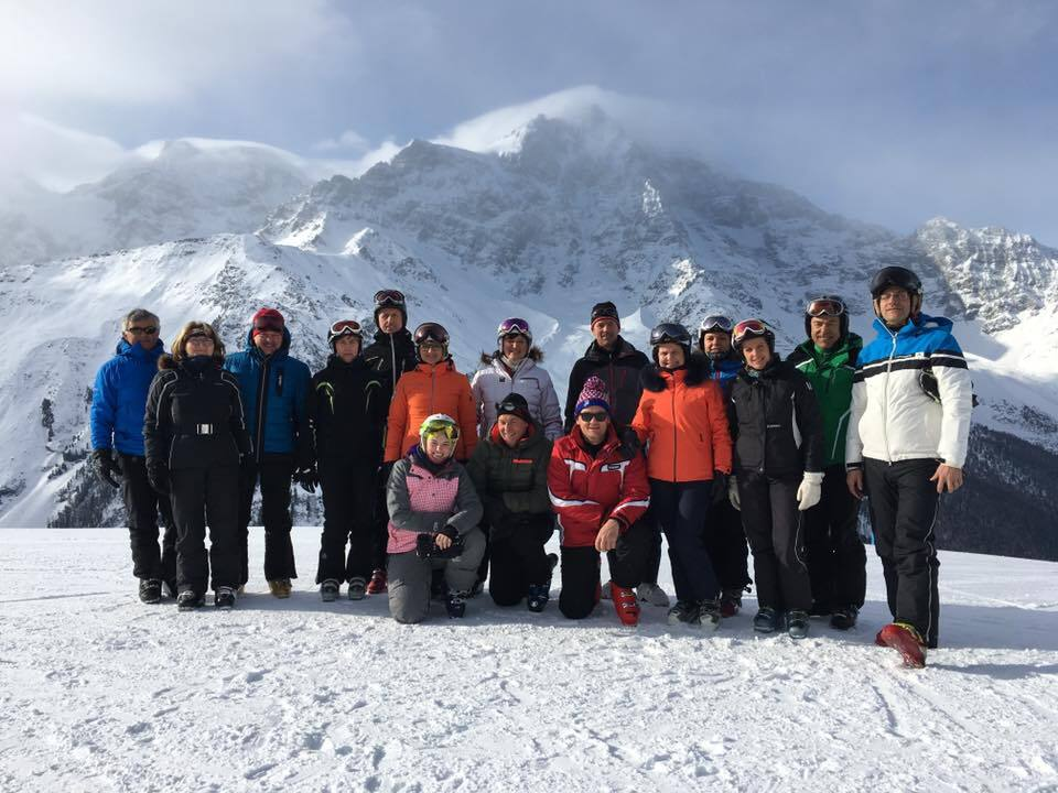 Skiausflug Schutzhüttenbetreiber im HGV 2017