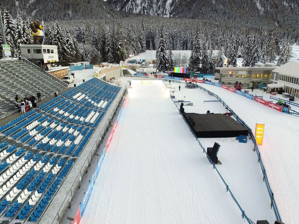 Südtirol_Arena Biathlon Antholz