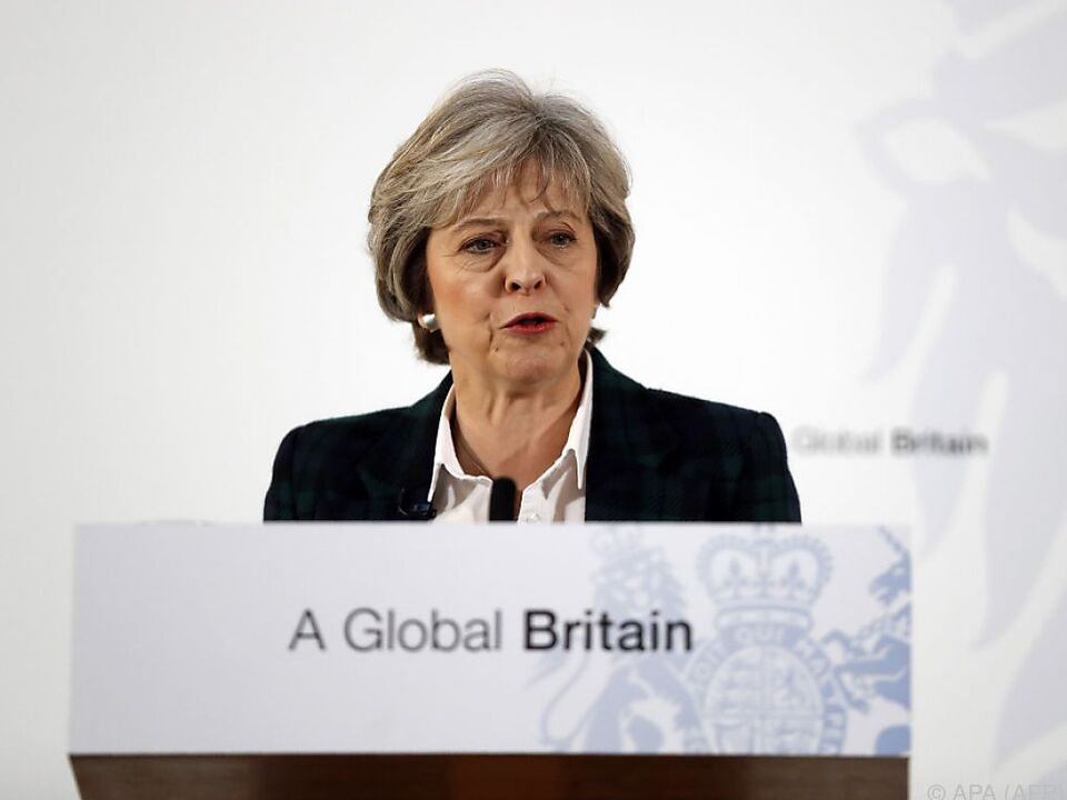 May will Ausstieg aus EU-Binnenmarkt und Zollunion