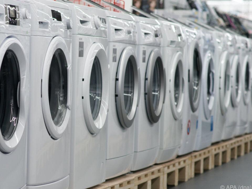 Waschmaschinen mieten könnte beliebt werden