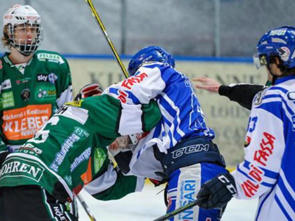 AHL/EC Bregenzerwald – HC Fassa Falcons 3:5